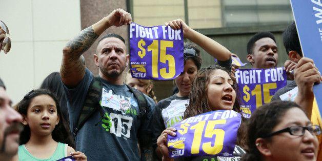 California S Political Earthquake A 15 Minimum Wage Minimum Wage World Business News California