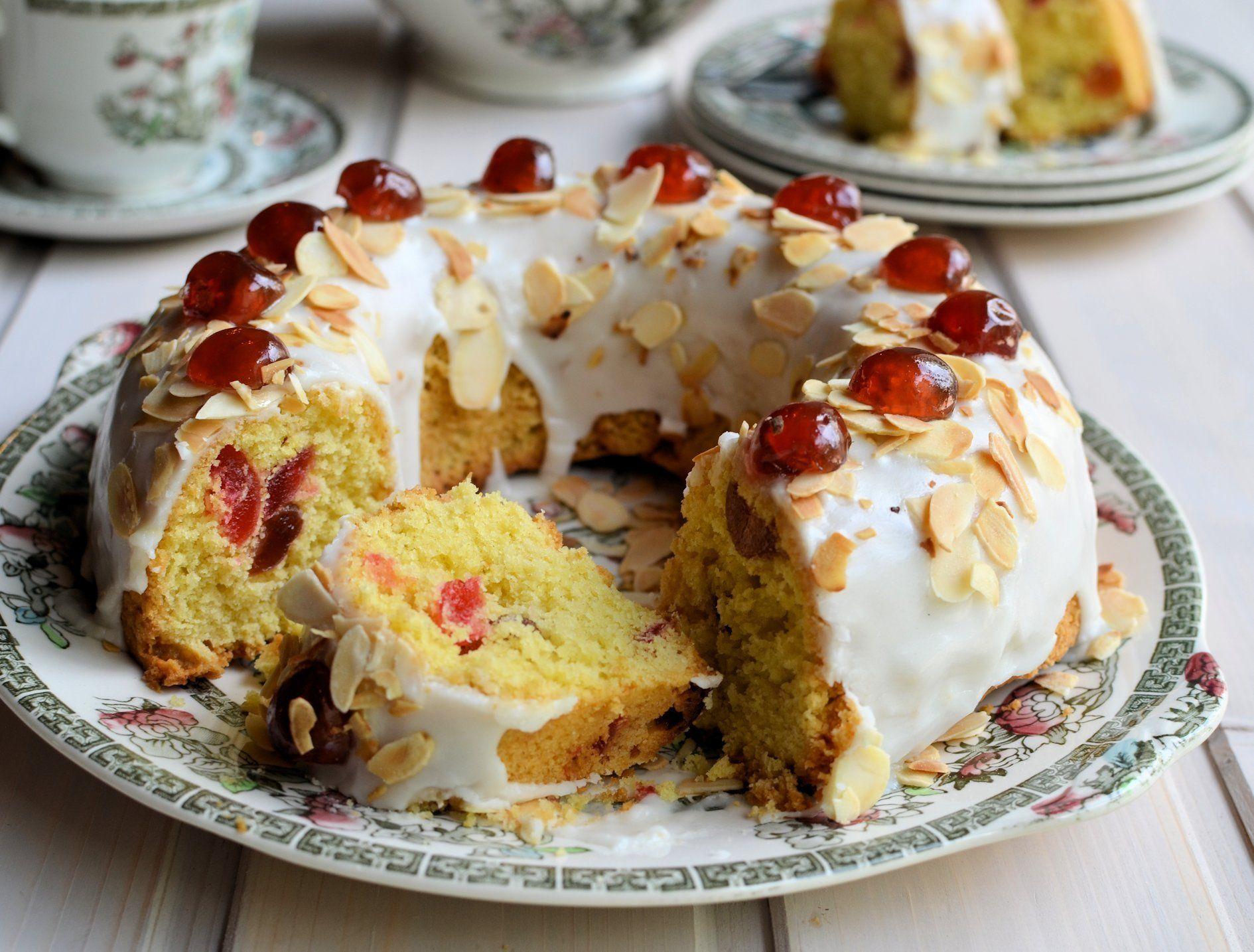 Mary Berry Cherry Cake | Recipe | Mary berry cherry cake ...