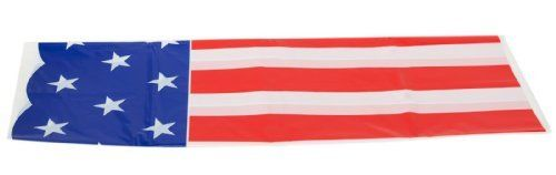 Stars and Stripes Table Cover (1 pc) by Fun Express. $4.50