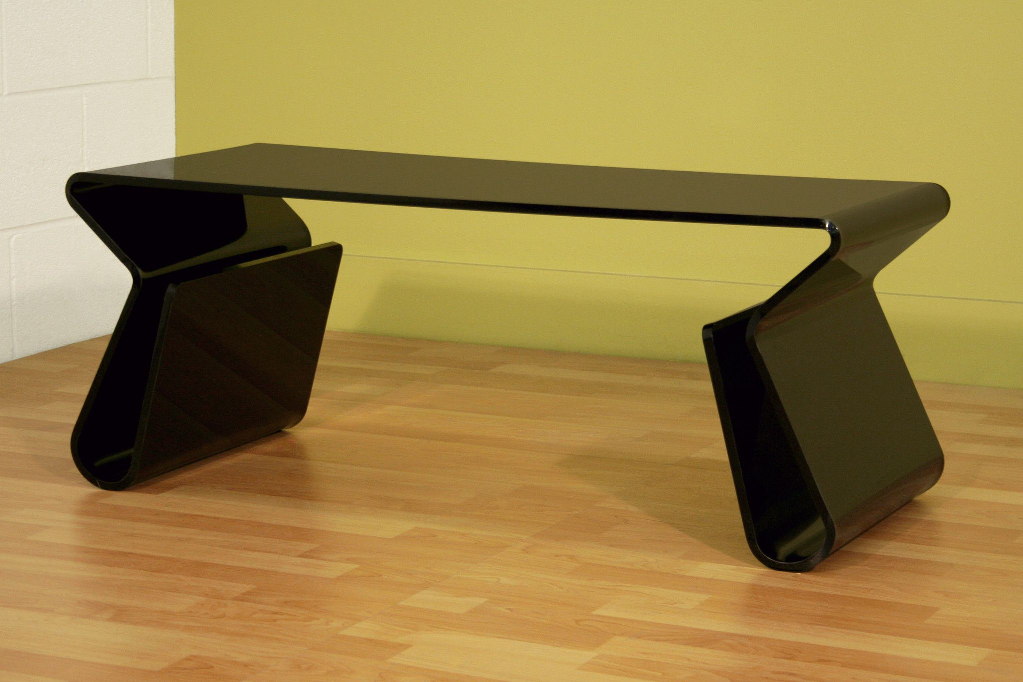 acrylic black coffee table magazine rack products pinterest