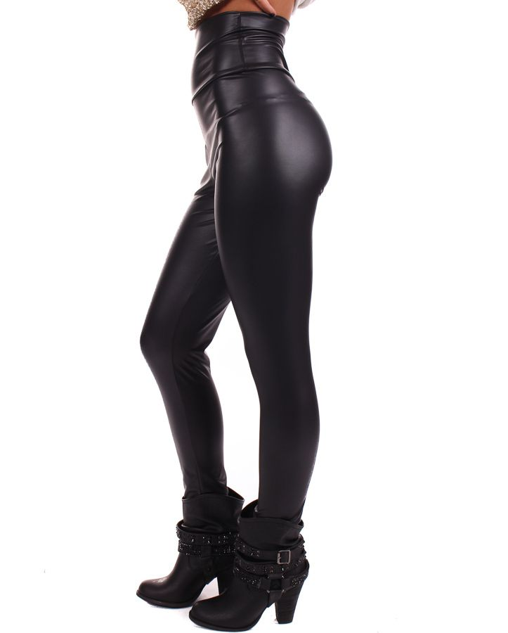 2aeee37d549a9 Lime Lush Boutique - Matte Faux Leather High Waisted Leggings, $34.99  (http:/