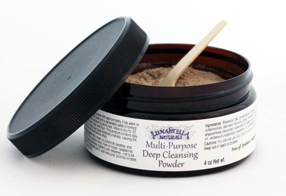Multi-Purpose Deep Cleansing Powder by LunaStellaNaturals on Etsy