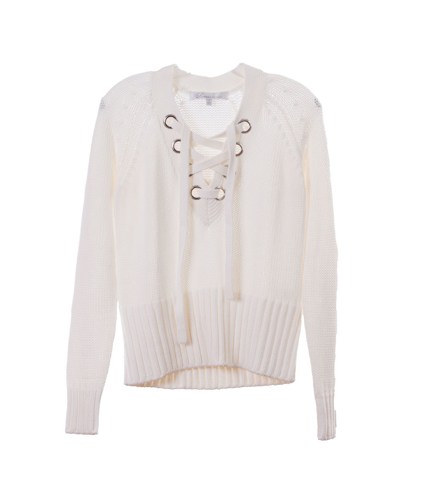 Lovers & Friends Womens Cream Sweater - FINAL | Products, Cream ...