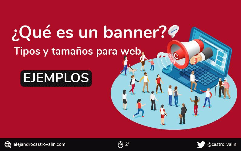 Qué Es Un Banner Publicitario Tipos De Banners Formatos Y Ejemplos Infografia Best Banner Design Grass Stain Remover Banner Design