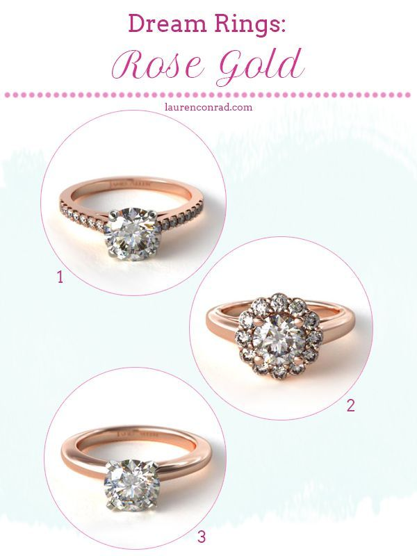 currently craving dream engagement rings such beauties rose gold my favorite at the moment - Lauren Conrad Wedding Ring