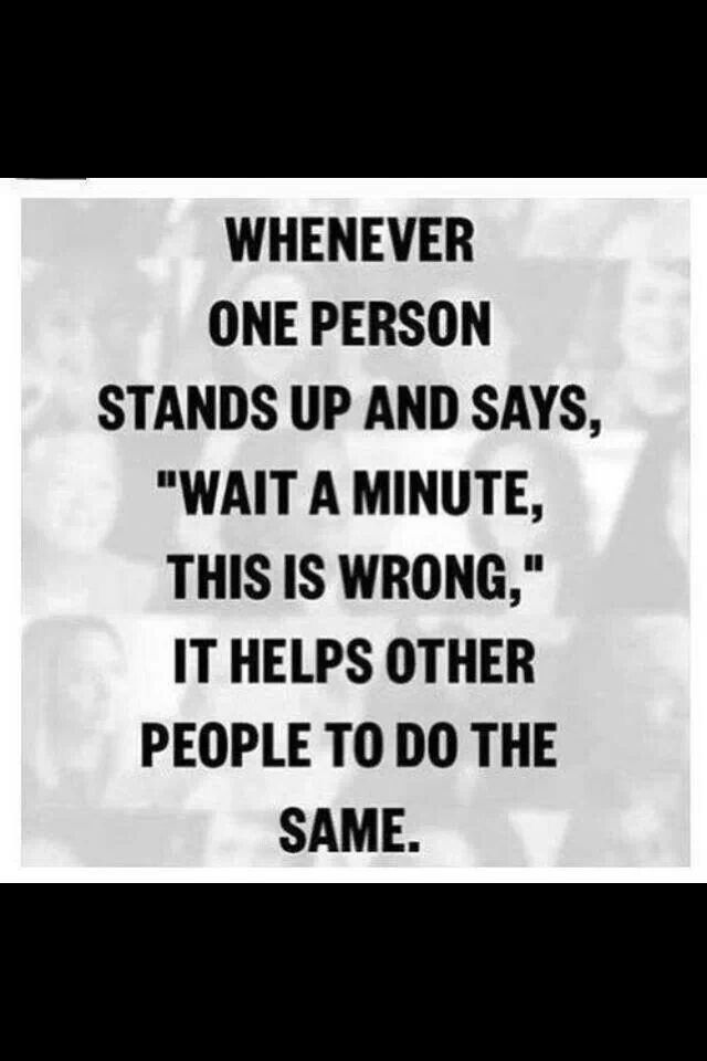 Stand Up Abuse Quotes Sayings Words