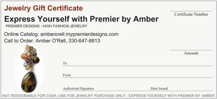 Premier Designs Calljimbo: Amber O'Rell Offer Premier Designs Jewelry Gift