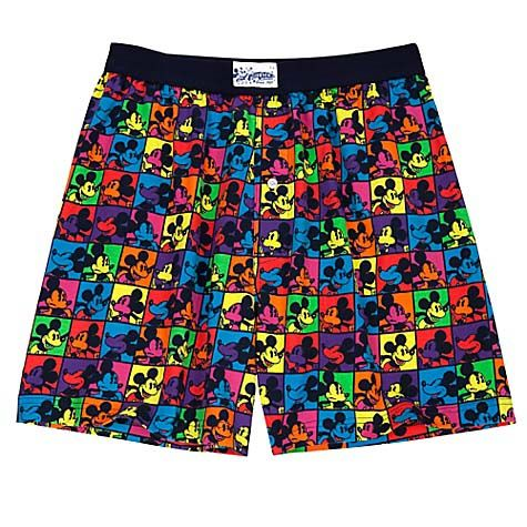 Your WDW Store - Disney Boxers - Neon Mickey Mouse