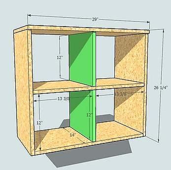 Lovely How To Build Cubbies