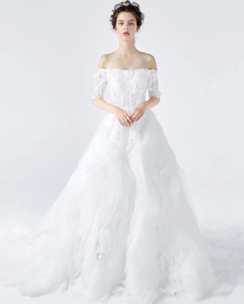 Snow White Wedding Disney Fairy Tale Princess Red Green Gold White Mirror Apple Winter Wedding Wedding Dress