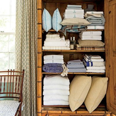 Small Space Organizing Tips | Linen cabinets, Small spaces and Linens