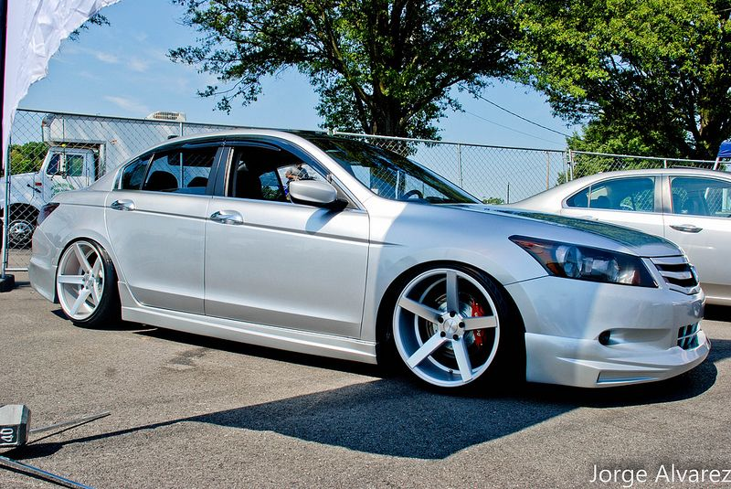 Stanced Honda Accords