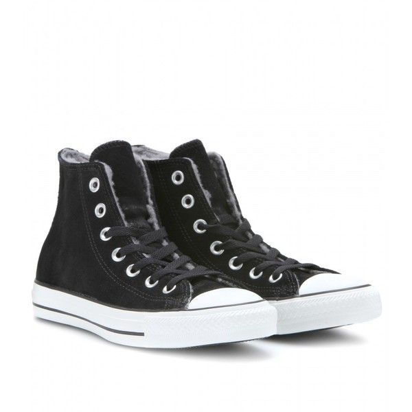 183e5a4e858eed Converse Chuck Taylor All Star Shearling-Lined Suede High-Top Sneakers  ( 127)