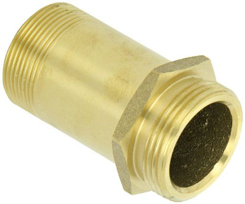 Professional Products 54184 3//8 NPT Stainless Steel Straight Fuel Return Fitting for Ford