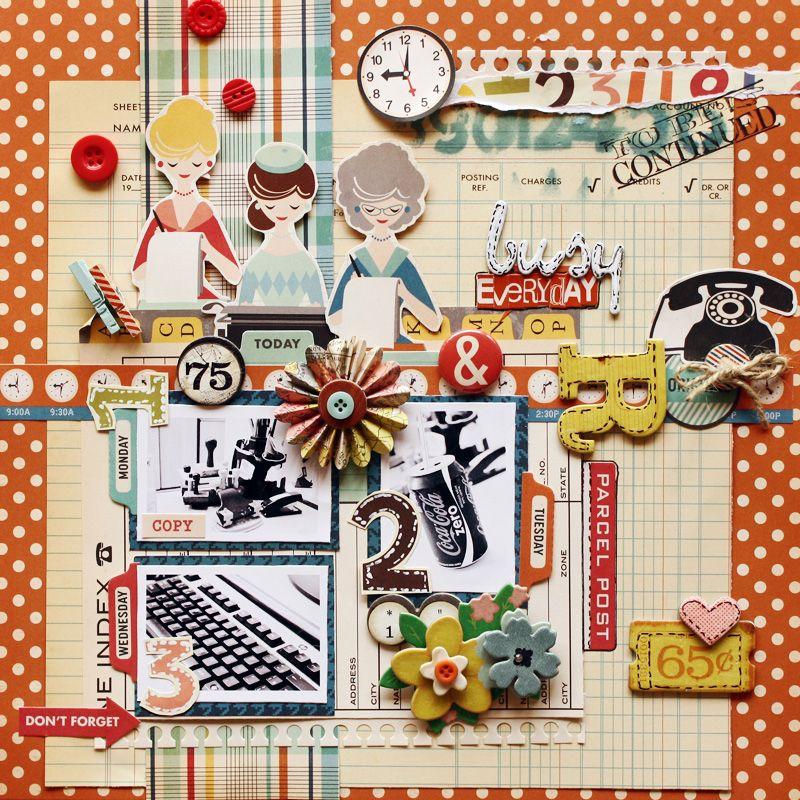 Busy Everyday - Scrapbook.com