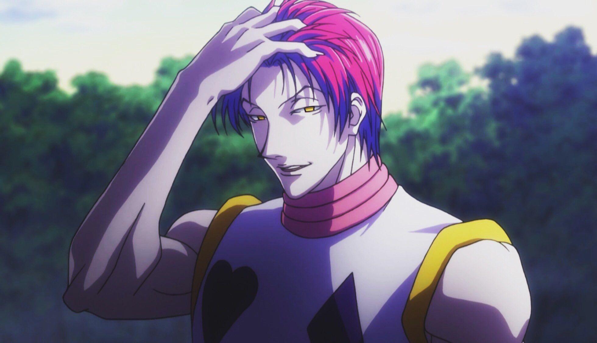 On Twitter Hisoka Hunter Anime Anime Guys