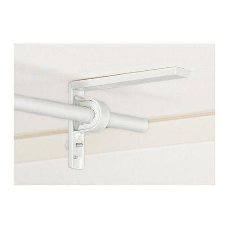 Set of 2 Ikea Betydlig Wall or Ceiling Curtain Rod