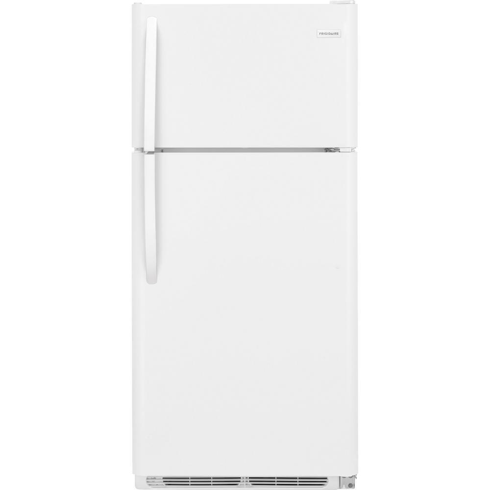 15 Cubic Feet White Top Freezer Refrigerator Top Freezer Refrigerator Frigidaire Refrigerator Refrigerator