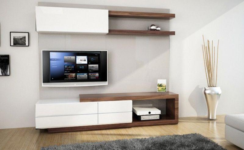 Centros de entretenimiento muebles contemporaneos minimalistas s tano cava de vinos - Muebles para tv minimalistas ...