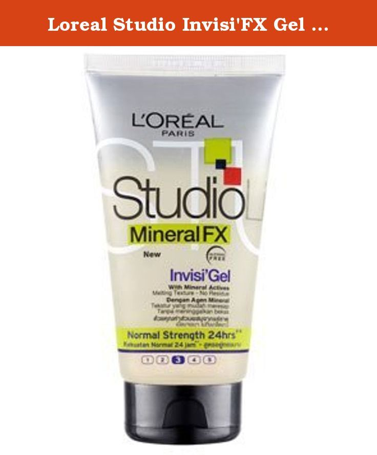 Loreal Studio Invisifx Gel Normal Strength Strong 36 150ml Rub
