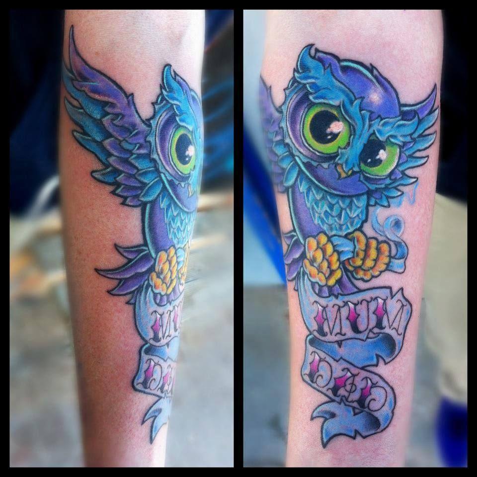 New School Girly Tattoos: Four Aces Tattoo, Aldinga Beach