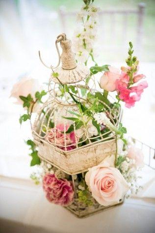 25 Wedding Flower Ideas Bird Cage CenterpieceBirdcage