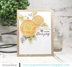 paperie blooms: you are amazing