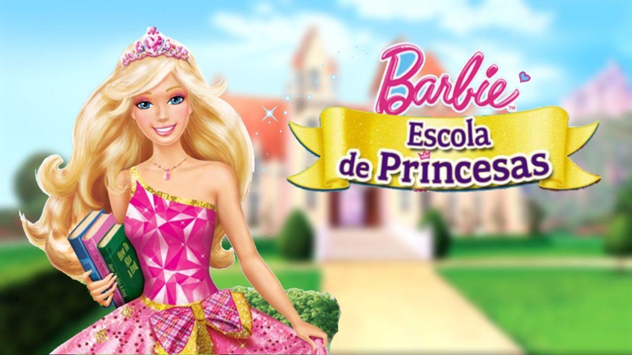 Barbie Escola De Princesas Filme Completo Barbie Princesa Coisas De Barbie Filmes Da Barbie