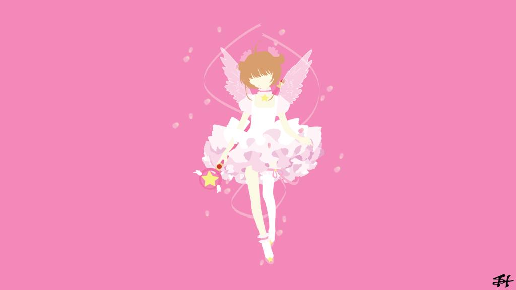 Minimalist Cardcaptor Sakura Sakura Art Cardcaptor Sakura Anime Wallpaper