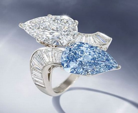 Bulgari Blue Diamond Ring For The First Time At Auction Most