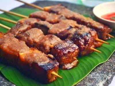 Resep Sate Tahu Ponorogo Bumbu Kacang Lilit Kecap Bumbu Balado Eten