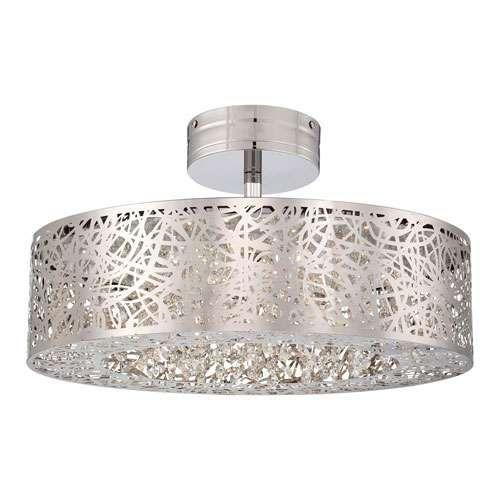 chrome ceiling euro possini light to close lights flushmount finish design mount plus products glass semi lighting usage flush lamps sphere