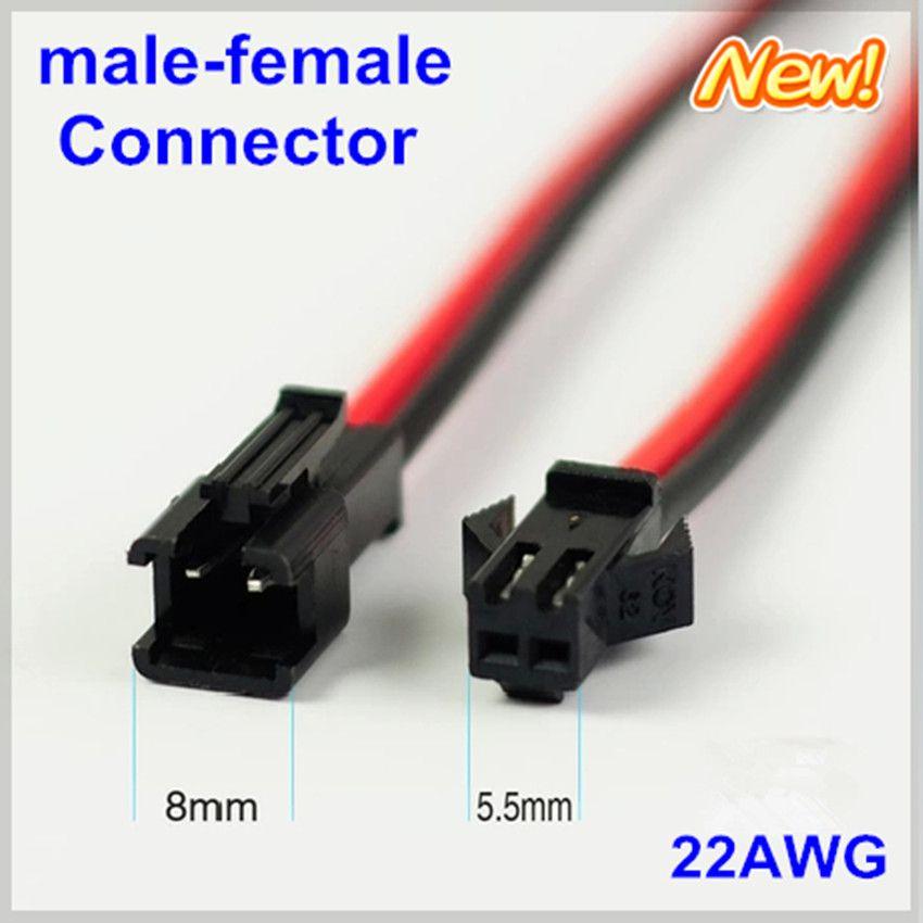 10 pairs Led-streifen-anschluss 2pin kabel 20 cm Terminals rot ...