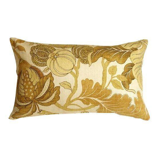 Best Pillow Decor Harvest Floral Yellow 12X20 Pillow 400 x 300