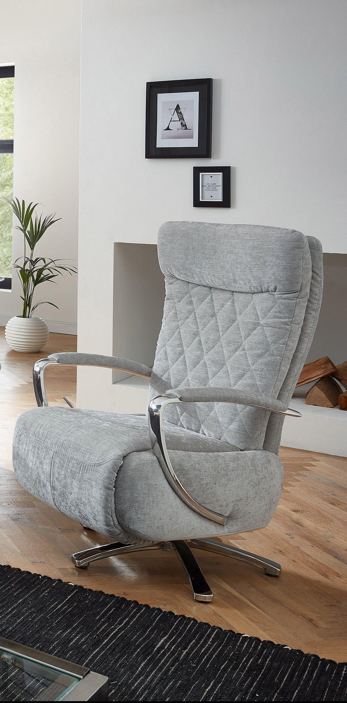 High Quality Relaxsessel Madagaskar   Aufregend Silbern Und Mit Einer Rautenförmigen  Steppung In Der Rückenlehne Weiß Der Sessel Home Design Ideas