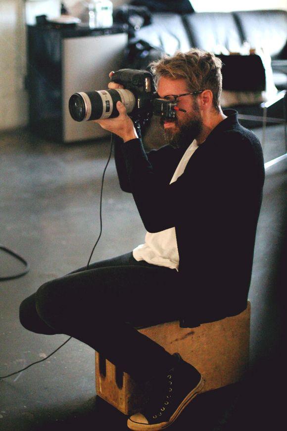 Behind The Scenes Featuring Model Jourdan Dunn