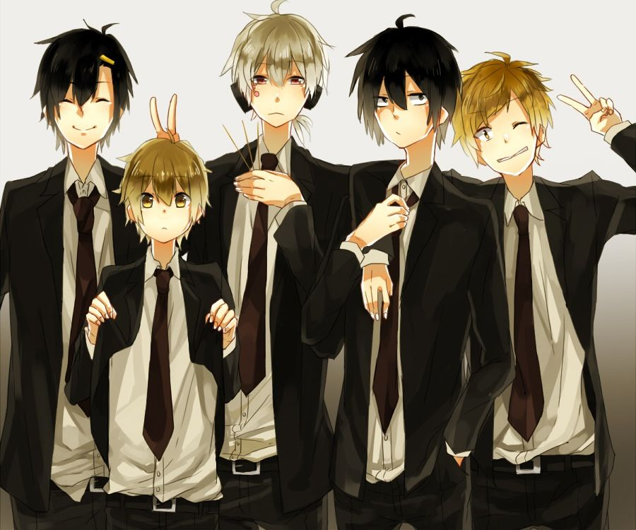 anime group of friends girls - Google Search | Best ...  |Anime Group Of Friends Boys And Girls