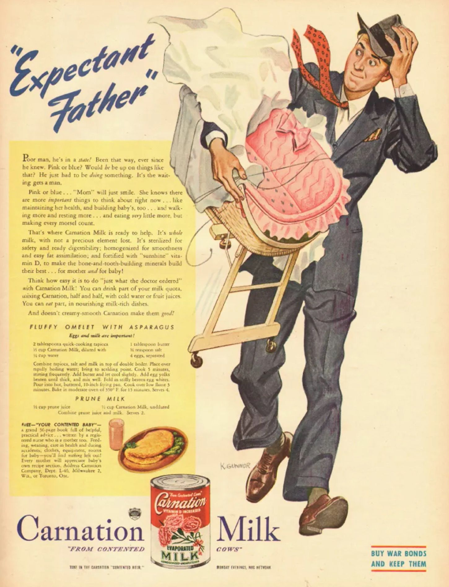 Carnation Milk Advertising Metal Sign Wall Plaque Art Vintage Retro
