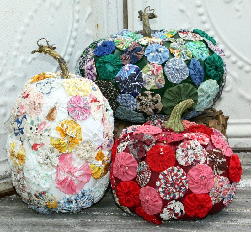 Calabazas de halloween decoradas jels love yo yo - Calabazas pintadas y decoradas ...