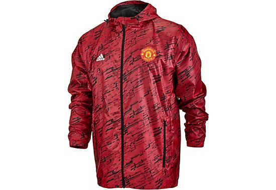 adidas Manchester United Windbreaker. Available right now at
