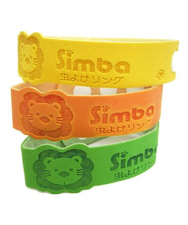Look what I found on #zulily! Natural Mosquito Repellent Bracelet Set by Simba #zulilyfinds