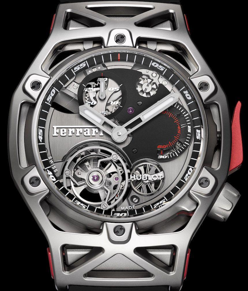 5c3680fc8e9 Ferrari Celebrates 70th Anniversary With Hublot Watch