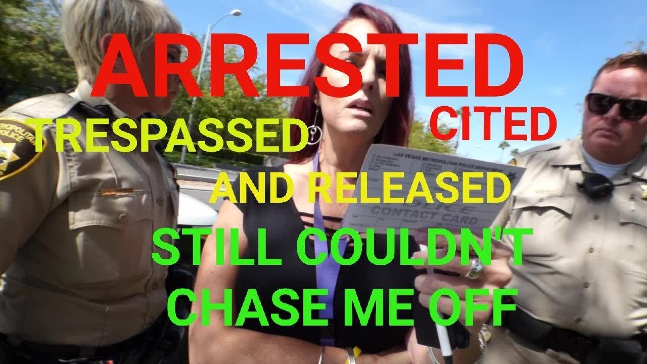 Las Vegas Arrest Stand Your Ground No Charges Filed 1st Amendment Arrest Las Vegas Watch News
