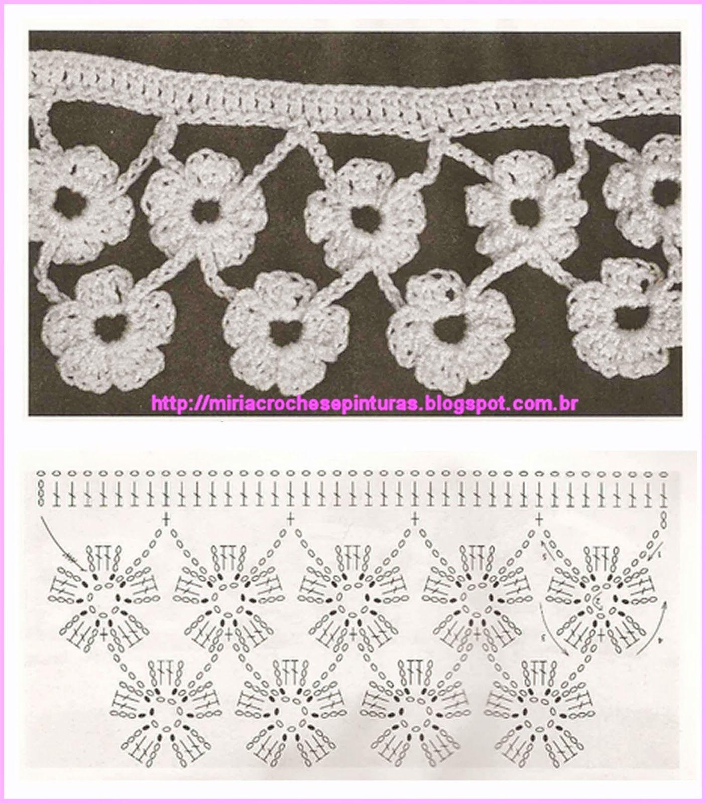 Pin de neko y asociados en puntas   Pinterest   Croché, Ganchillo y ...