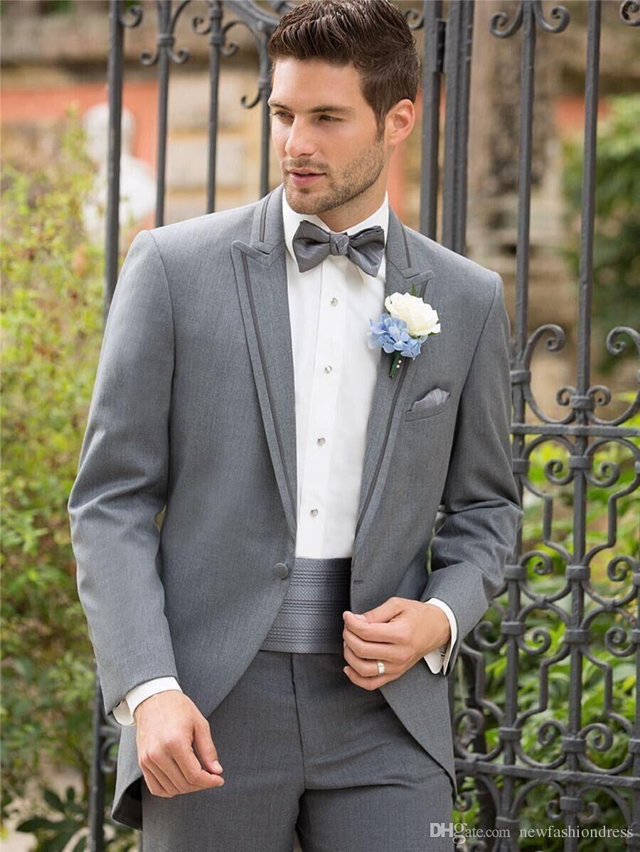 Gray Groom Tuxedo 2016 Groomsmen Pinterest Best