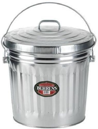 Details About New Belhrens 6110 10 Gallon Galvanized Garbage Trash