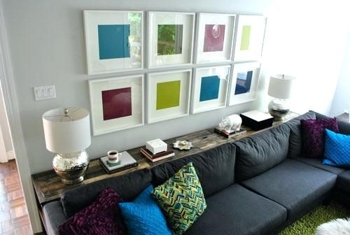 Console Table Behind Sofa All Sofas For Home In 2019 Console