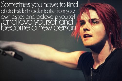 A Quote By Gerard Way Mcr Quotes Gerard Way Band Quotes