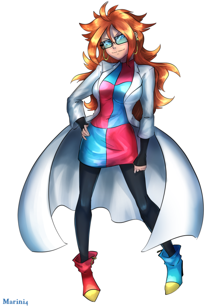 Dragon ball fighter z android 21 normal by marini4 - Dragon ball z 21 ...