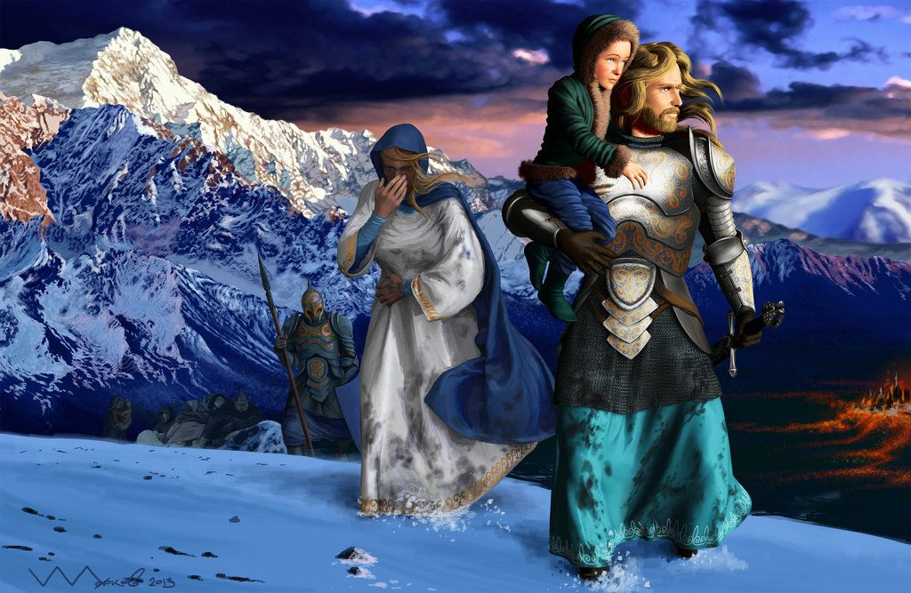The Fall Of Gondolin By Ivanalekseich On Deviantart Middle Earth Tolkien Art History Of Middle Earth